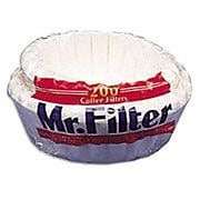 Mr. Coffee Concepts Coffee Filters for 12 cup drip coffee makers, 200/Pack
