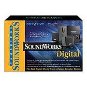 Creative Labs Sound Works Digital Speakers