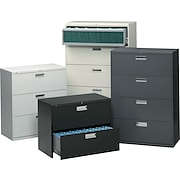 "HON® 600 Series 30""-Wide 2, 3, 4 and 5 Drawer Lateral File/Storage Cabinets"