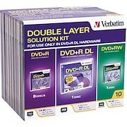 Verbatim 10/Pack DVD+R Kit, Jewel Case