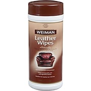 Weiman® Leather Wipes, 30/Tub