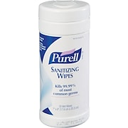 Purell® Pop-Up Instant Hand Sanitizing Wipes, 35/Tub