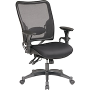 SPACE® Air Grid™ Professional Ergonomic Chair with Black Mesh Seat