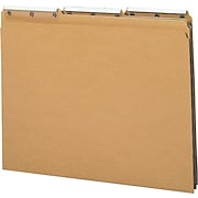Smead® Rite-Angle Kraft Folders with Insertable Tabs, Letter Size, 50/Box