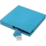 LaCie 60GB Skwarim Portable Hard Drive, Blue