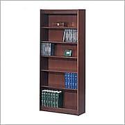 SAFCO Workspace 6-Shelf Veneer Baby Bookcases