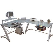 Z-Line® Matrix Glass Desks