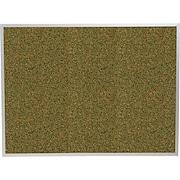 Balt® 3' x 2' Green Splash Cork Bulletin Board with Aluminum Trim