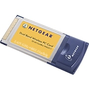 Netgear ProSafe™ Dual Band Wireless-G Laptop Adapter
