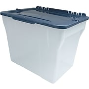 Staples® File Box with Hinged Lid