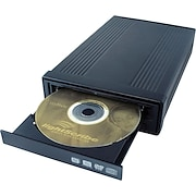 I/O Magic 20X External Double Layer DVD Drive With LightScribe™