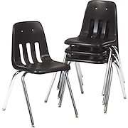 Virco® 9000 Series Plastic Stacking Chairs, 4/Pack