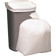 Brighton Professional™ X-tra Heavy Can Liners, 13-Gallons, White