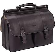 SOLO® Colombian Leather Laptop Portfolio Bag