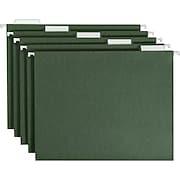 Smead® Standard Green Hanging File Folders