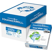 "HammerMill® Great White Copy Paper, 8 1/2"" x 11"", Case"