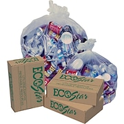 EcoStar Liners, 60 Gal., 1.2 mil., Super Heavy, Natural color