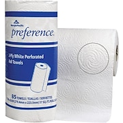 Preference® Perforated Paper Towel Rolls, 2-Ply, 15 Rolls/Case