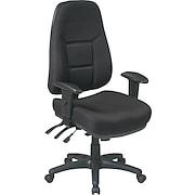 Office Star™ Super-Ergonomic High-Back Fabric Task Chairs