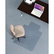 Staples® Economical Chairmat, Standard Lip, 36'' x 48''