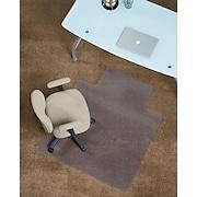 "Staples PlushMat Chairmat, Standard Lip, 36"" x 48"""