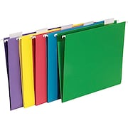 Staples® Colored Hanging File Folders
