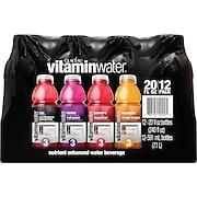Vitaminwater®, Assorted, 20 oz. Bottles, 12/Pack