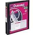 1in. Avery® Durable View Binder with EZ-Turn™ Rings, Black