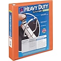 1-1/2in. Avery® Heavy-Duty View Binder with One Touch™ EZD® Rings, Bright Orange