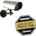 Defender Home Deterrent Pack Durable Aluminum Security Yard Sign, Outdoor Imitation Camera