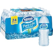 Nestle® Pure Life® Bottled Purified Water, 16.9 oz. Bottles, 24/Case
