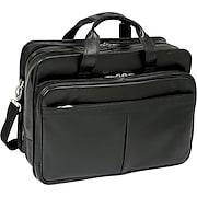 "McKlein USA Walton Leather Expandable Laptop Case , 17"""