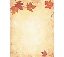<span style = color:orange>Fall Stationery</span>