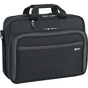 "SOLO® Sterling Collection CheckFast™ Laptop Portfolio, Black, 17"""