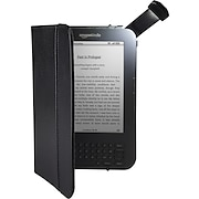 Amazon Kindle Lighted Leather Cover, Black