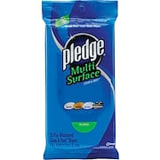 Pledge® Multi-Surface Clean & Dust Wipes, 25/Pack