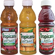 Tropicana® 100% Juice, 10 oz. Bottles, 24/Case