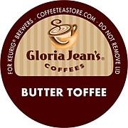 Keurig® K-Cup® Gloria Jean's® Butter Toffee Coffee, Regular, 18 Pack