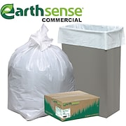 Webster® Earthsense® Commercial  <span style=color:green>Recycled</span> Can Liners