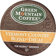 Keurig® K-Cup® Green Mountain® Vermont Country Blend Decaf Coffee, Decaffeinated, 24/Pack
