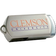 Clemson Tigers DataStick Twist USB Flash Drives