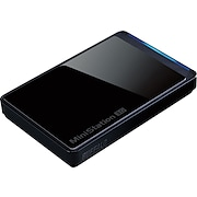 Buffalo Technology HD-PCT1TU2/BB MiniStation Stealth 1TB Portable Hard Drive - USB 2.0