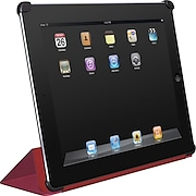 Macally Protective Cover and Stand for iPad™2, Red