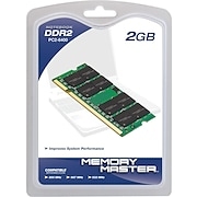 Memory Master 2GB (2 x 1GB) DDR2 (200-Pin SO-DIMM) DDR2 667 (PC2 5300) Universal Laptop Memory