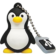 EMTEC Animal Collection 4GB USB 2.0 Flash Drive, Penguin