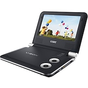 """Coby 7"""" Portable DVD Player"""