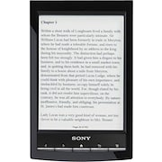 Sony® PRS-T1 Wi-Fi Touch E-reader, Black