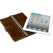 Jivo Executive Leather Case and Stand for iPad2, Brown