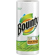 Bounty® Perforated Paper Towel Rolls, 2-Ply