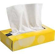 Brighton Professional Flat Box Tissues, 2-Ply, 6/Pack